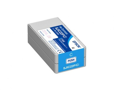SJIC22P(C): Ink cartridge for ColorWorks C3500 (Cyan)