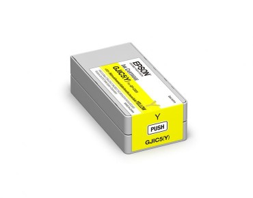 GJIC5(Y): Ink cartridge for ColorWorks C831 (Yellow) (MOQ=10)